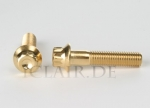 Rim screw M7x32 gold